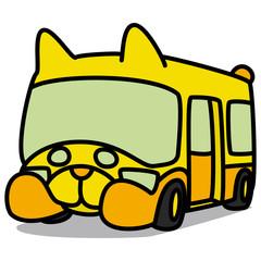 Cartoon Car 80 : Animal School Bus