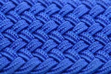 Blue Interwoven Fabric Texture