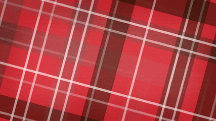 red scottish checked fabric loopable background