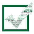 """Nuage de Tags """"SERVICE"""" (aide questions réponses contact faq)"""