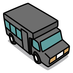 Cartoon Car 85 : Minibus