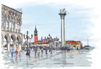 Venice. Piazza San Marco