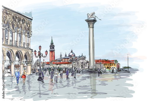 Venice. Piazza San Marco - 49393192