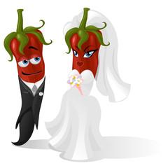 peperoncini sposi