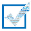 "Nuage de Tags ""100% SERVICE"" (aide questions contact faq)"