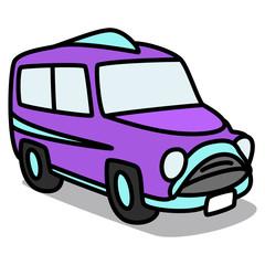 Cartoon Car 89 : Vintage Bus