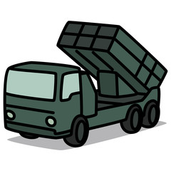 Cartoon Car 90 : Missile Truck
