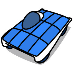 Cartoon Car 92 : Solar Vehicle