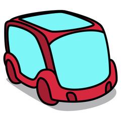 Cartoon Car 95 : Future Van