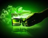 Fototapete Cocktail - Trinken - Glas