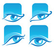 vector collection of eyes icons and symbols..vector collection o