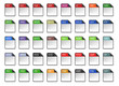 Filetype Icons - Design ''Kapiku Blank'' - Set 1