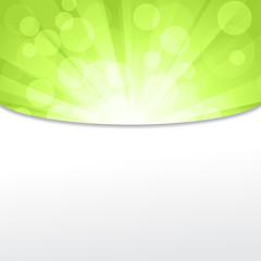 Green light frame