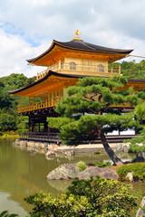 Kinkakuji - The Golden Pavillion, Kyoto, Japan..