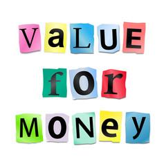 Value for money.