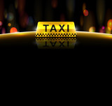 Fototapety Taxi service