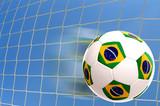 Fototapeta piłka - filiżanka - Artykuły Sportowe