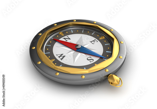 Old style compass.