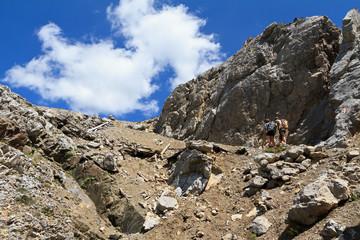 Dolomiti - Bepi Zac footpath