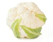 Cauliflower isolated on white background_V