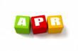 April Colored Cubes