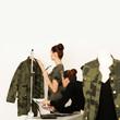 weibliche Modedesignerin