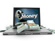 Online money, euros