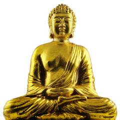 sitting Buddha gold