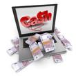 Online cash, Euros