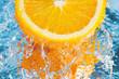 Fototapete Makro - Orange - Obst