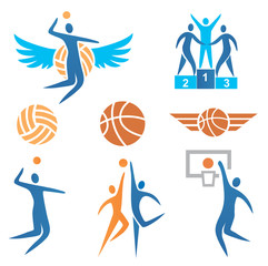 Volleyball_Basketball_Icons