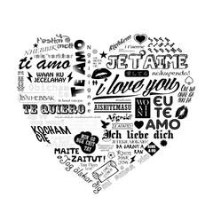 LOVE DECLARATION VECTOR