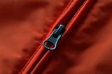 Red and Orange Coat Zipper