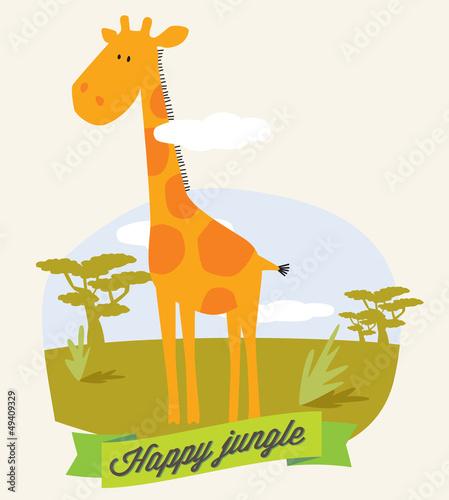 girafe pour enfant