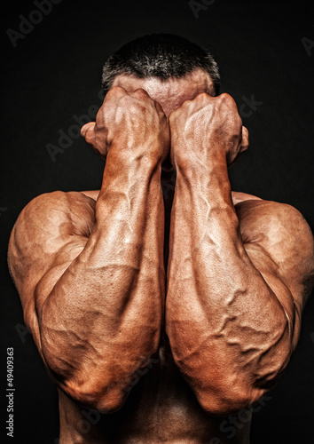 """""""Model with strong hands"""" Stock photo and royalty-free ..."""