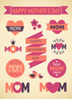 Mother's Day Design Eleme...