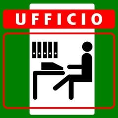 CARTELLO INDICATORE UFFICIO