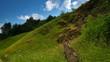 Rockies landscape time lapse