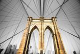 Fototapety The Brooklyn bridge, New York City. USA.