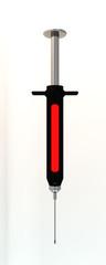 black syringe