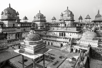 Orcha's Palace, India.