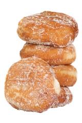 Doughnuts on White