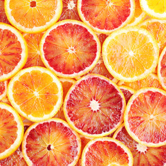 Blood orange background