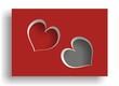 Dwa serca - miłość