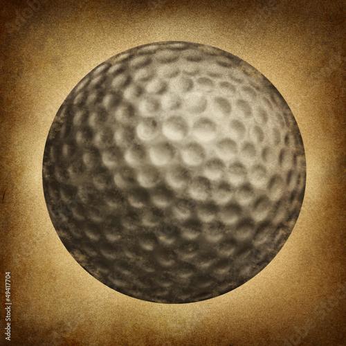 Golf Ball Grunge