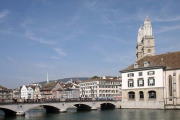 Zürich, view across Limat 3