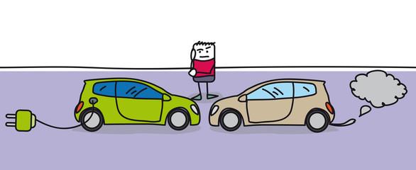 Choisir sa voiture moteur électrique ou thermique