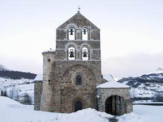 Romanesque church of San Salvador in Palencia