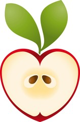 Logo love apple 2