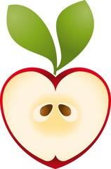 Logo love apple 2